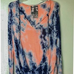 Young Fabulous and Broke Tie Dyed Top